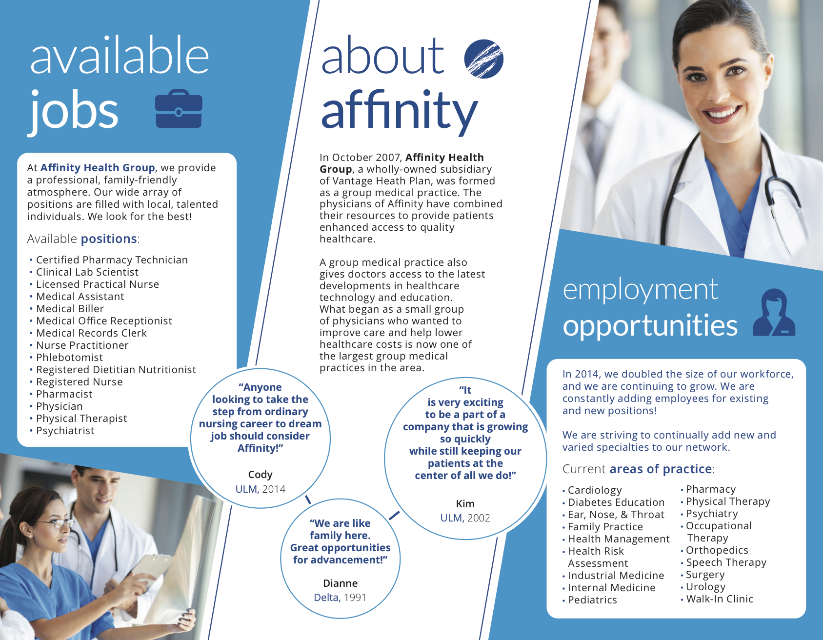 Affinity Recruiting Trifold Derek G Poole