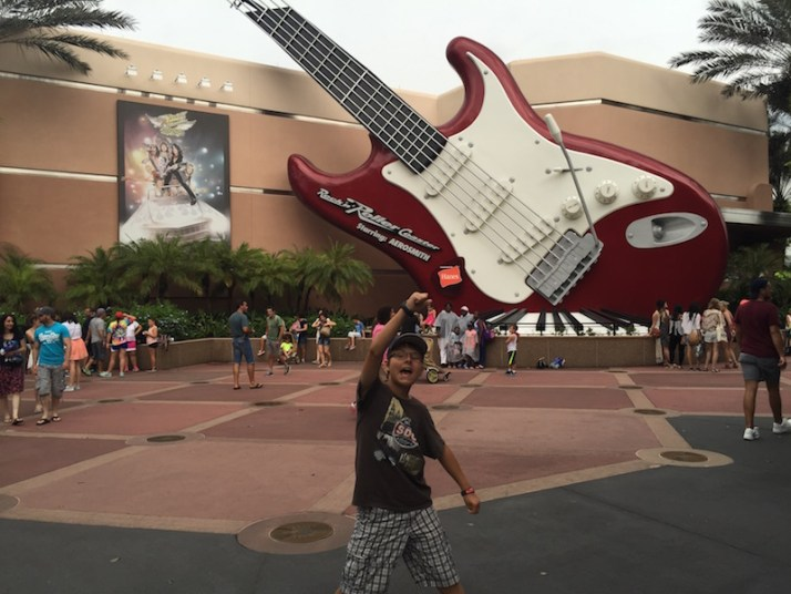 Rock 'n' Roller Coaster presented by Hanes but clean underwear not required after this ride