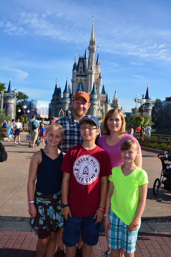 Mandatory photo in front of the castle