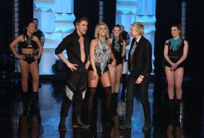 Derek and Julianne perform in The Ellen Show - March 2, 2015 Courtesy: The Ellen Show site