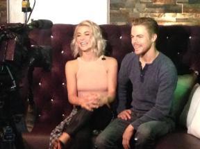 Derek and Julianne talk to Fox10 Phoenix about Move Live on Tour - Phoenix, Arizona - June 11, 2015 Courtesy: mrobisonfox10 twitter