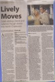 Post and Courier lead article of weekly entertainment section, Charleston, SC Courtesy Charleston Scene
