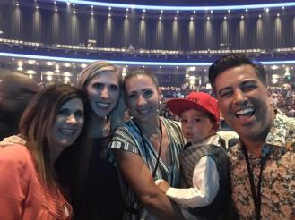 """Thank you @NAPPYTABS for being so gracious tonight and allowing us to get a picture with your family! Love you guys!!"" - Los Angeles, California - August 7, 2015 Courtesy @ktheshrubber"