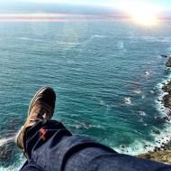 """Chillin on the edge"" Courtesy: derekhough IG"