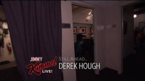 """""""@derekhough dancing with his mom in the dressing room is too cute"""" - February 15, 2016 Courtesy morgalina_ twitter"""
