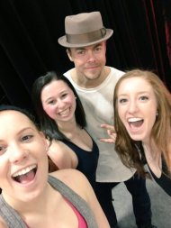 """DEREK HOUGH WE LOVE U"" - February 12, 2016 Courtesy ShainaJ6 twitter"