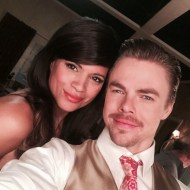 """""""Tonight's """"Jane the Virgin"""" has a very special guest @derekhough #JaneTheVirgin"""" - April 18, 2016 Courtesy andreanavedo IG"""