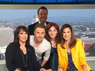 """So fun! @DancingABC @derekhough @TheRealMarilu live in studio! Got energy? Yes!! @abc7coleen @ABC7George @abc7danny"" - September 15, 2016 Courtesy abc7ellen twitter"