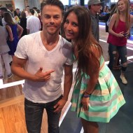"""Thank you BDC for this opportunity and thank you @derekhough for being my idol! #GMA #goodmorningamerica #derek #inspiration #dancingwiththestars #dancer #love"" - September 7, 2016 Courtesy paige_ketsoglou_dancer IG"