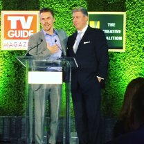"""""""@derekhough honored last night for his support of http://www.helponelife.org and Sophie's Place http://www.foreveryoung.org """" Courtesy Bruce Hough Twitter"""