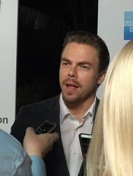 """""""Derek Hough was there and sang and danced"""" - October 1, 2016 Courtesy Bryna Dambrowski Facebook"""