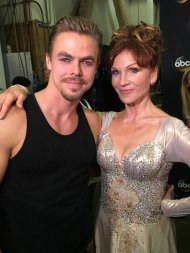 """""""For tonight's Most Memorable Year on #DWTS, @TheRealMarilu & @derekhough will Viennese Waltz to """"Surprise Yourself."""""""" - October 4, 2016 Courtesy abc7george twitter"""