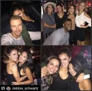 """More birthday fun last weekend in LA! 🎉💃🏻🎈🎂❤️#birthdaygirl #hayleyerbert #loveher #hayleyis22"" - October 10, 2016 Courtesy debbie_schwartz IG"