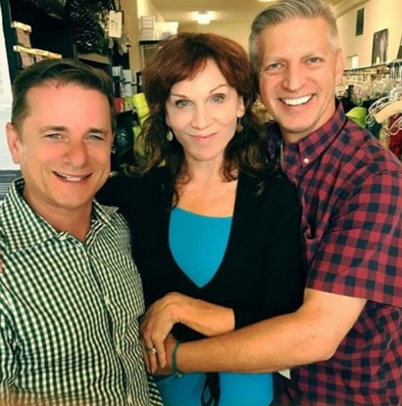 """Check Mates. Evening Shade gang back together on #DWTS23 @howardsussman @therealmarilu @ericjayvw #LoveHer"" - October 17, 2016 Courtesy ericjayvw IG"