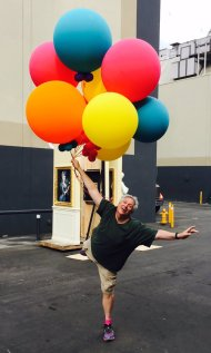 """Having fun on our Universal Studios back lot."" - October 25, 2016 Courtesy Harvey Fierstein Facebook"