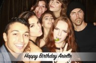 """About last night.. 🙃 Happy Birthday @Arielle"" - September 30, 2016 Courtesy Paul Karmiryan IG"