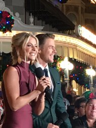 """""""When the obsession is real 😍 @derekhough @juliannehough"""" - November 12, 2016 Courtesy lilileanna twitter"""