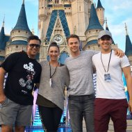 """""""We about to do this Team!!!! Let's Go! #ABCDisneyHolidaySpecial @derekhough @kylehanagami @nappytabs #CreativeDirectors"""" - November 12, 2016 Courtesy nappytabs twitter"""