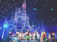 """This was magical!! 💙✨."" - November 12, 2016 Courtesy twindisneyadventures IG"