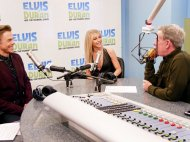 """We are ON-AIR with @juliannehough and @derekhough!"" - December 16, 2016 Courtesy elvisduranshow twitter"