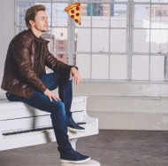 """Caption this: Winona Ryder's SAG awards flying pizza showed up in my photo shoot. ""I love you Crust the way you are"""" - February 15, 2017 Courtesy derekhough IG"