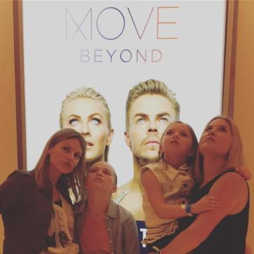 """""""Channeling our inner Derek and Julianne. Last nights #moveliveontour at the #mgmnationalharbor was seriously amazing! @moveliveontour"""" courtesy katiemkilbride ig"""