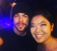 """""""Move BEYOND Live• 💃🏼 OMG I JUST MET DEREK HOUGH WHAT IS MY LIFE!!! 😍 Thank you for being so sweet to your fans! 🤗 #moveliveontour"""" courtesy reneechang_ ig"""
