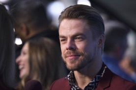 """Derek Hough at the NBCUniversal upfront presentation at New York city ;) #houghmoment #derekhough @derekhough #worldofdance #wod #nbc #ny"" Courtesy on.D.spot ig"