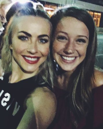 """""""You can't see the tears due to the blurriness of this photo but there were many shed"""" courtesy baileyrhane ig"""