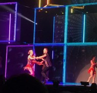 """#MoveBeyond was amazing! Fantastic dances & terrific vocals! Thank you for a fun evening @derekhough @juleshough & @moveliveontour!"" - Move Beyond - Charlotte, North Carolina - May 10, 2017 Courtesy brandyj79 IG"