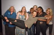 """Thank you so much @derekhough & @juliannehough for the group pic! We all became friends because of our ❤️ for you!"" - Move Beyond - New York - May 6, 2017 Courtesy CurlyBuckeye twitter"