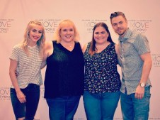 """Meet and Greet from last night with @derekhough and @juleshough #movelivetour #MoveTour2017 #moveBeyond"" - Move Beyond - Durham, North Carolina - May 9, 2017 Courtesy jennab472 IG"