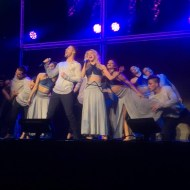 """Thank you @derekhough @juleshough and all the dancers, lighting crew, stage crew, music crew, security and Belle for putting on an AMAZING and INSPIRING and BREATHTAKING show. The choreography was original and the background visuals were perfectly matched. I had an epic time."" - Move Beyond - Uncasville, Connecticut - April 30, 2017 Courtesy lawgirl246 IG"