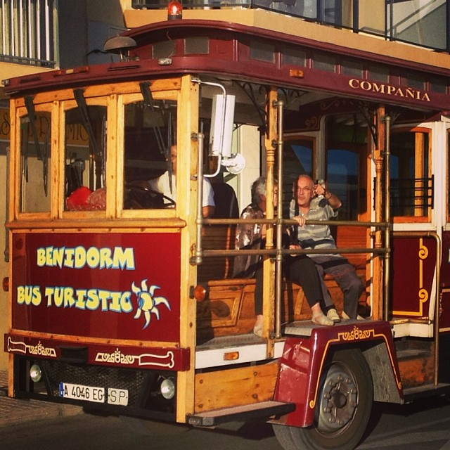 Benidorm bus - from Instagram