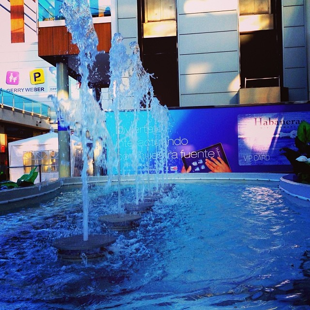 Fountain, Habaneras Shopping Centre, Torrevieja - from Instagram