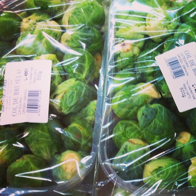 Brussel Sprouts - from Instagram
