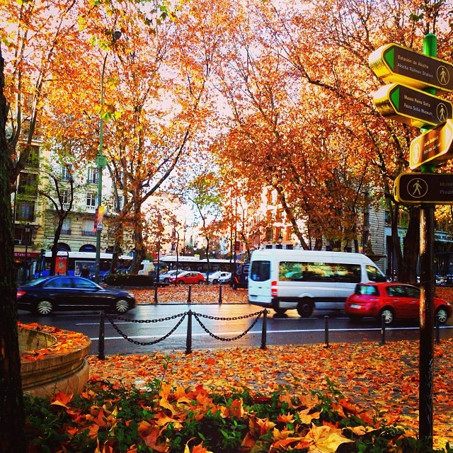 Winter in Madrid - from Instagram