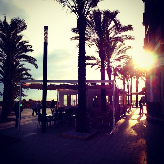 Torrevieja sun settings - from Instagram