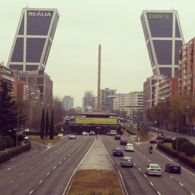 Bankia, Madrid - from Instagram