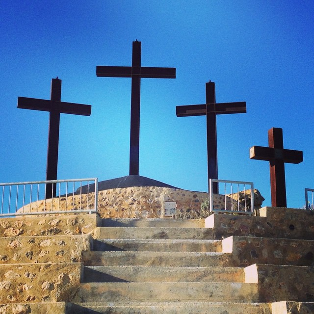 #crosses #cruces #rojales #spain #españa - from Instagram