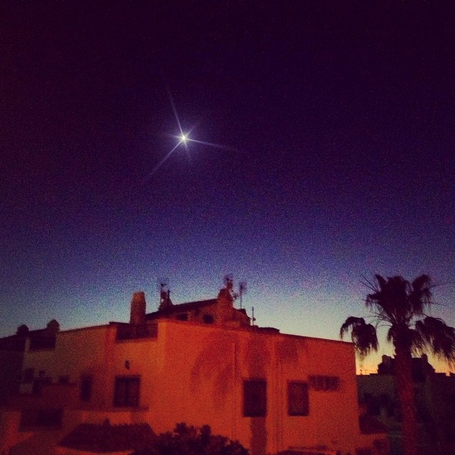 #torrevieja #costablanca #spain #españa #sunset #puestadelsol #star #estrella - from Instagram