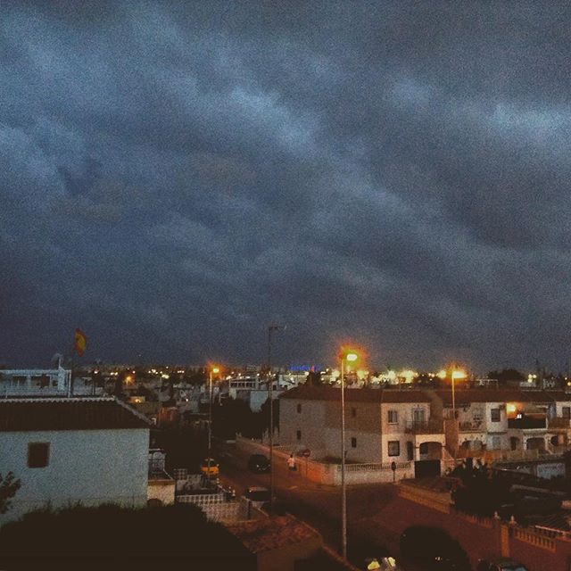 Grey cloud & rain - from Instagram