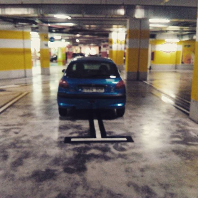 You park like an ass hole - from Instagram
