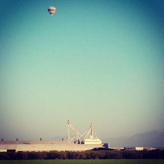 Balloon over La Marina - from Instagram