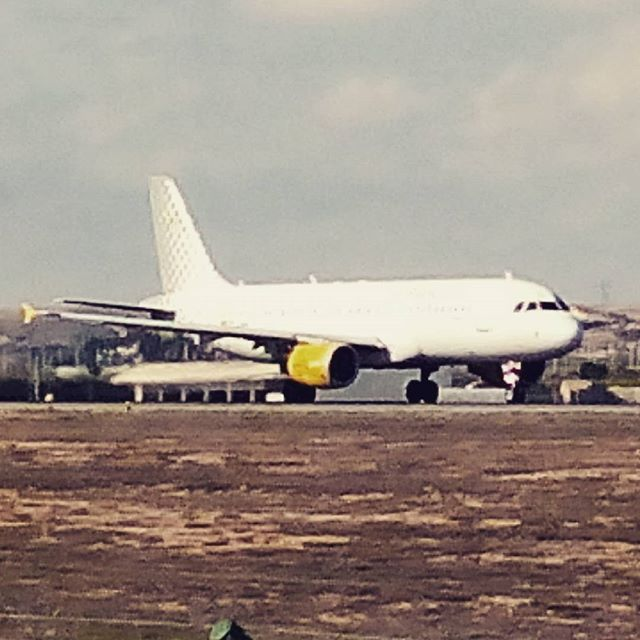 #alicante #elche #airport #vueling #milan - from Instagram