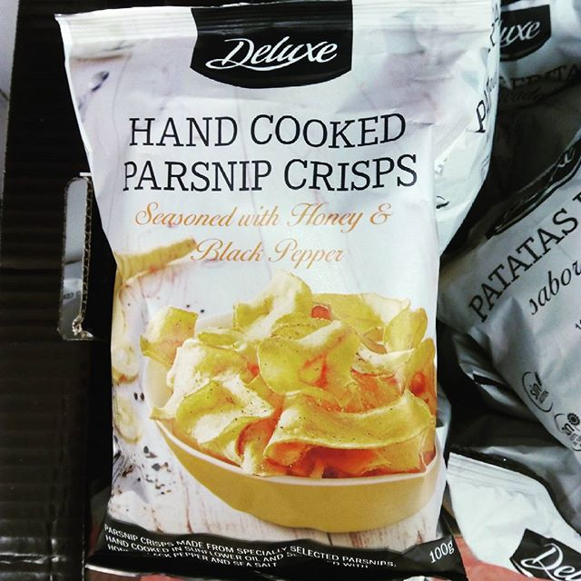 Parsnip crisps, yes or no? - from Instagram