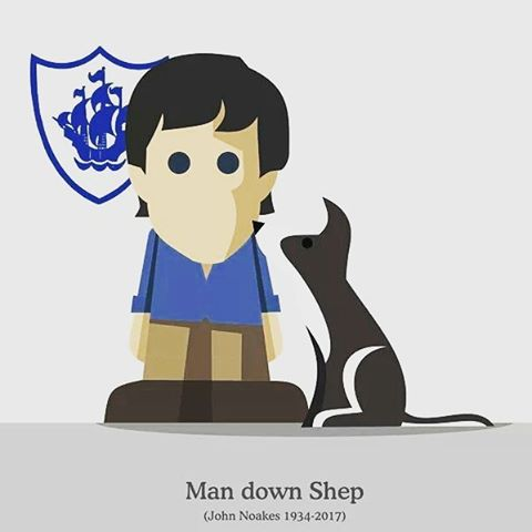 #RIP #JohnNoakes #BluePeter #Shep - from Instagram
