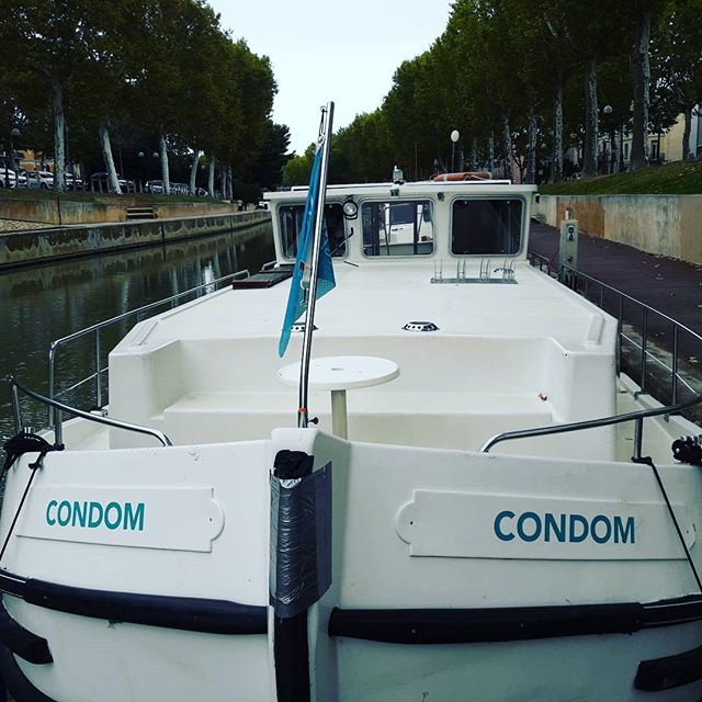 Great name for a boat. - from Instagram