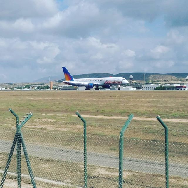 #autohash  #Spain #ComunidadValenciana #airplane #aircraft #airport #travel #traveling #visiting #instatravel #instago #sky #landscape #vehicle #fence #military #industry #outdoors #agriculture #field #farm #summer #tourism #war #vacation #Alicante-Elche #Jet2 #LS879 - from Instagram