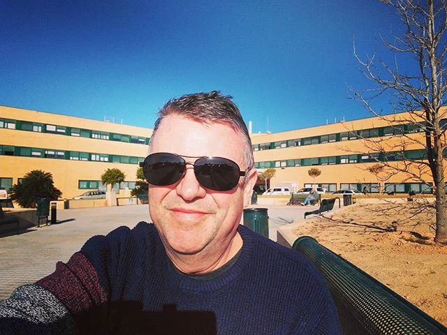 #radiotherapy #planning #meeting #bowelcancer #torrevieja #autohash #Spain #ComunidadValenciana #portrait #people #outdoors #sky #travel #traveling #visiting #instatravel #instago #sunglasses #modern #city #sunny #landscape #urban #sight #road #street #building - from Instagram